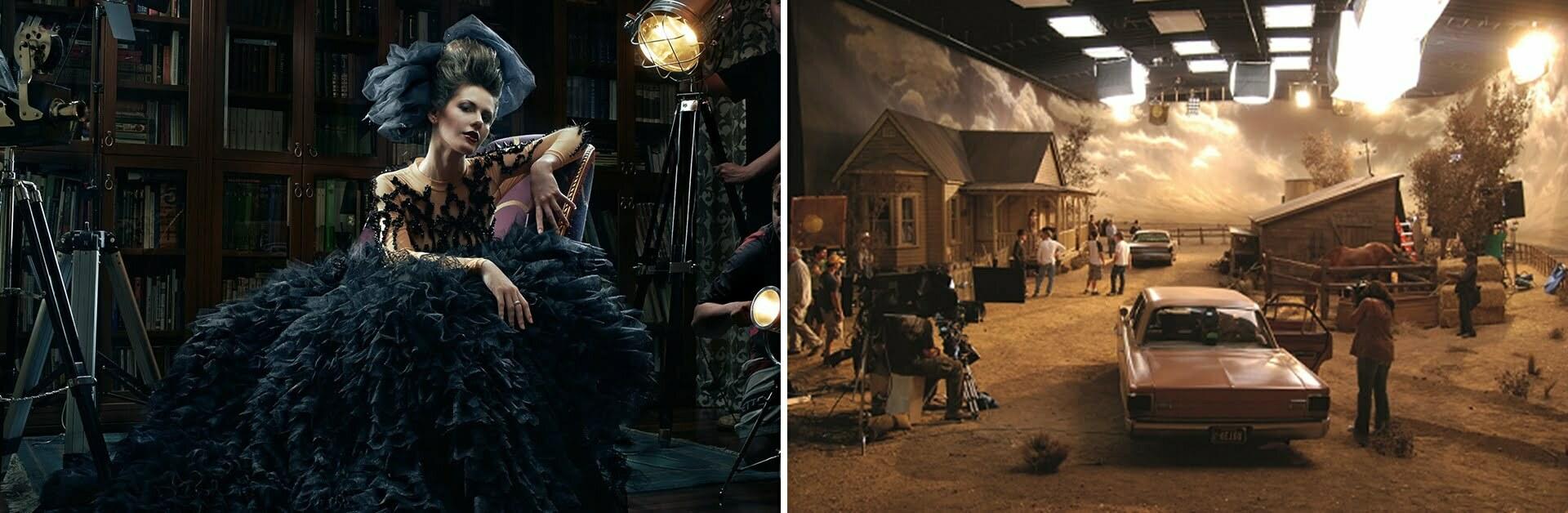 Film Shoot Stage Light
